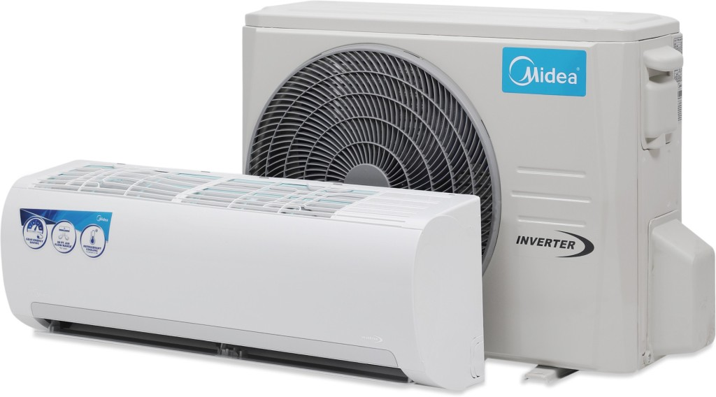 Midea 1 Ton 3 Star BEE Rating 2018 Inverter AC White