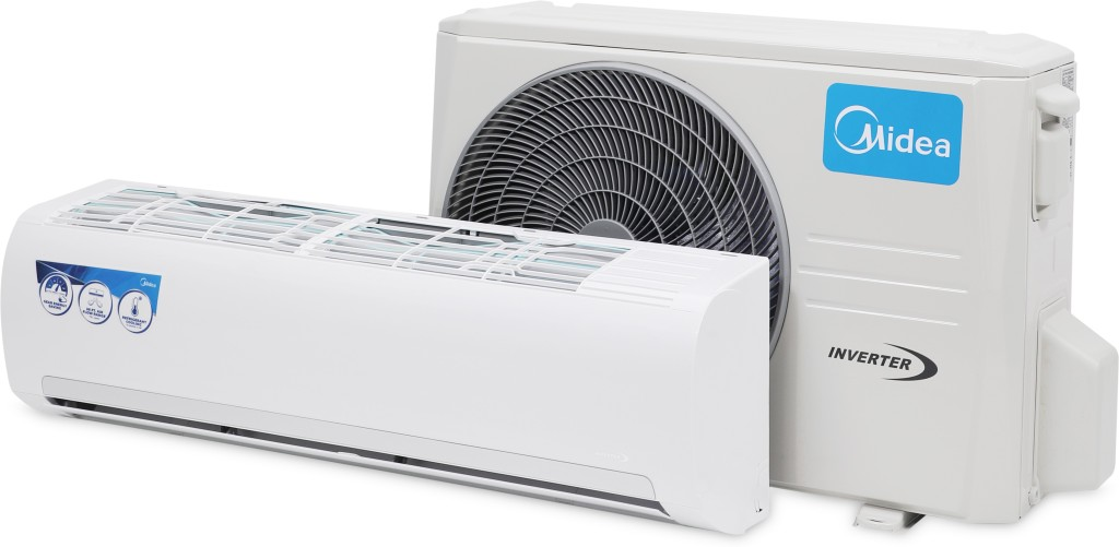 Midea 1 5 Ton 3 Star Inverter AC White