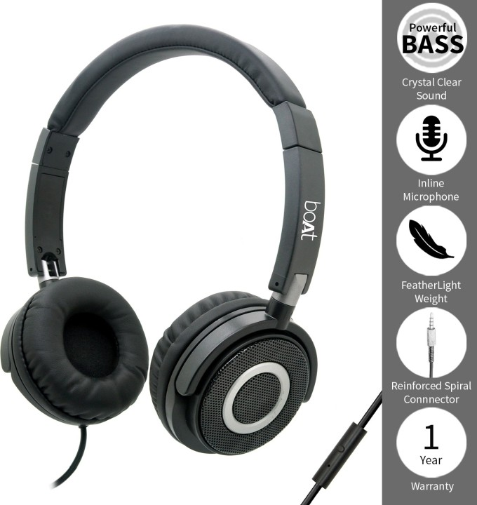 af2524e67d4 Reviews Summary + Pros/Cons - boAt BassHeads 900 Super Extra Bass Wired  Headset with Mic