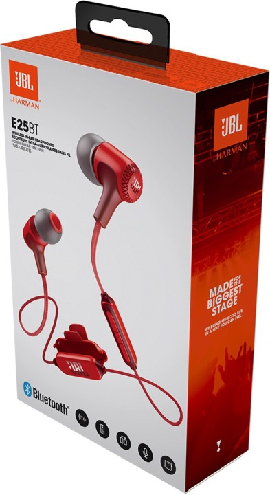 JBL E25BT Bluetooth Headset with Mic