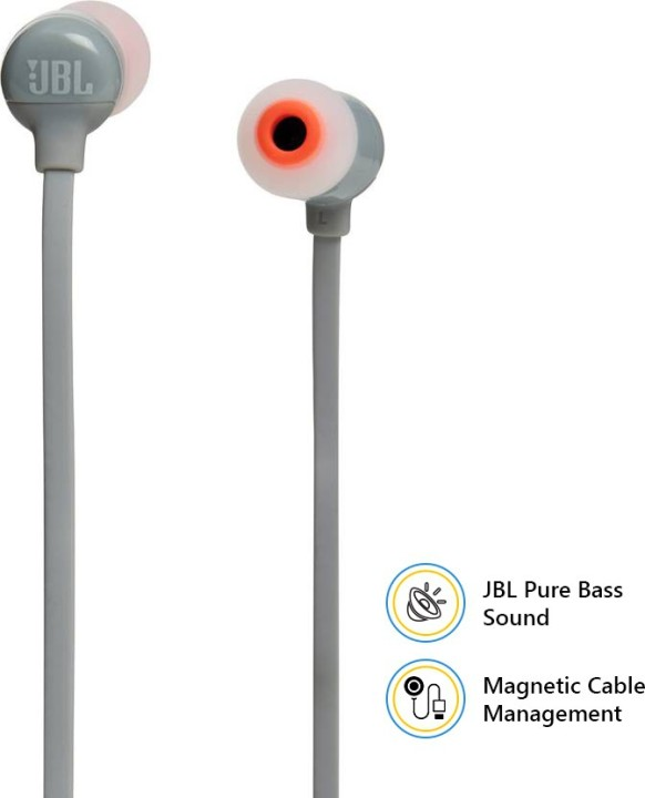 JBL T110BT Wireless Pure Bass Bluetooth Headset with Mic