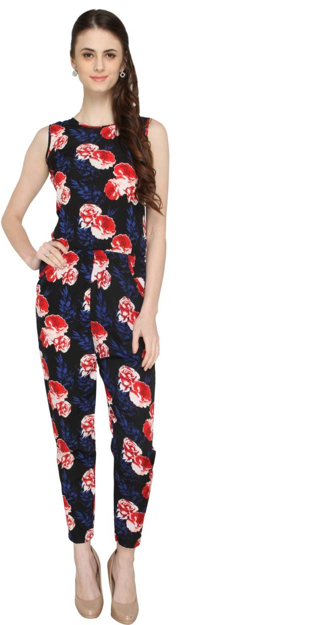 Creative Magnetic Designs Women Navy Jumpsuit Available At Myntra For Rs659