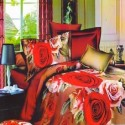 Shree Creations Polycotton Floral Double Bedsheet available at Flipkart for Rs.899