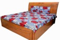 Shree Creations Cotton Floral Double Bedsheet available at Flipkart for Rs.799