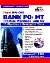 Target IBPS-CWE Bank PO/ MT Practice Workbook: 15 Objective + Descriptive Tests (With CD) price comparison at Flipkart, Amazon, Crossword, Uread, Bookadda, Landmark, Homeshop18