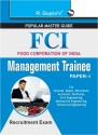 FCI - Management Trainee - Paper 1 : Recruitment Exam price comparison at Flipkart, Amazon, Crossword, Uread, Bookadda, Landmark, Homeshop18