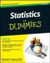 Statistics For Dummies price comparison at Flipkart, Amazon, Crossword, Uread, Bookadda, Landmark, Homeshop18
