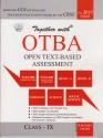 Together with Open Text-Based Assessmet (Class - 9) 1st Edition price comparison at Flipkart, Amazon, Crossword, Uread, Bookadda, Landmark, Homeshop18
