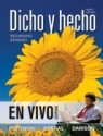 Dicho y Hecho: En Vivo Edition Beginning Spanish available at Flipkart for Rs.11396