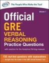Official GRE Verbal Reasoning Practice Questions price comparison at Flipkart, Amazon, Crossword, Uread, Bookadda, Landmark, Homeshop18