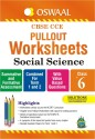 CBSE CCE Pullout Worksheets - Social Sciecne : Class 6 - Combined for Term 1 and 2 price comparison at Flipkart, Amazon, Crossword, Uread, Bookadda, Landmark, Homeshop18
