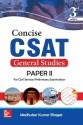 Concise CSAT For GS Paper II 3 Edition price comparison at Flipkart, Amazon, Crossword, Uread, Bookadda, Landmark, Homeshop18