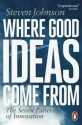 Where Good Ideas Come from the Seven Patterns of Innovation price comparison at Flipkart, Amazon, Crossword, Uread, Bookadda, Landmark, Homeshop18