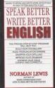 Speak Better Write Better English price comparison at Flipkart, Amazon, Crossword, Uread, Bookadda, Landmark, Homeshop18
