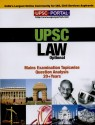 UPSC Mains : Law Questions Paper : Mains Examination Topicwise Question Analysis 20 + Years available at Flipkart for Rs.150