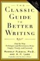The Classic Guide to Better Writing price comparison at Flipkart, Amazon, Crossword, Uread, Bookadda, Landmark, Homeshop18