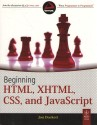 Beginning HTML, XHTML, CSS, And Javascript 1st Edition 9788126525515 available at Flipkart for Rs.651