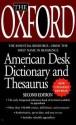 The Oxford American Desk Dictionary Andthesaurus, Second Edition price comparison at Flipkart, Amazon, Crossword, Uread, Bookadda, Landmark, Homeshop18