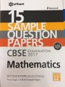 15 Sample Question Papers, CBSE Examination 2017, Mathematics, Class 12th price comparison at Flipkart, Amazon, Crossword, Uread, Bookadda, Landmark, Homeshop18