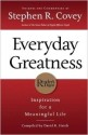 Everyday Greatness: Inspiration for a Meaningful Life price comparison at Flipkart, Amazon, Crossword, Uread, Bookadda, Landmark, Homeshop18