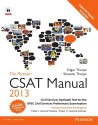 The Pearson CSAT Manual 2013: Civil Services Aptitude Test for the UPSC Civil Services Preliminary Examination price comparison at Flipkart, Amazon, Crossword, Uread, Bookadda, Landmark, Homeshop18