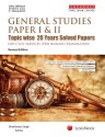 General Studies Paper I   II  Topic wise 20 Years Solved Papers  for Civil Services  Preliminary  Examination 9789350356616 available at Flipkart for Rs.349