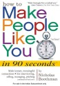 How to Make People Like You in 90 Seconds or Less! (English) price comparison at Flipkart, Amazon, Crossword, Uread, Bookadda, Landmark, Homeshop18