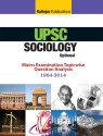 UPSC Sociology Optional Mains Examination Topicwise Question Analysis 1964 2014 4th  Edition 9789351720652 available at Flipkart for Rs.109