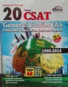 20 Years CSAT General Studies IAS Prelims Topic wise Solved Papers : Fully Solved 1995   2014  English  5th  Edition available at Flipkart for Rs.333
