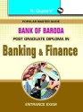 Bank of BarodaPost Graduate Diploma in Banking & Finance Entrance Exam Guide (Baroda Manipal School of Banking) price comparison at Flipkart, Amazon, Crossword, Uread, Bookadda, Landmark, Homeshop18