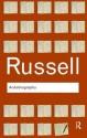 Bertrand Russell: Autobiography - INDIAN REPRINT price comparison at Flipkart, Amazon, Crossword, Uread, Bookadda, Landmark, Homeshop18