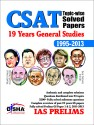 CSAT Topic-wise Solved Papers: 19 Years General Studies 1995 - 2013 price comparison at Flipkart, Amazon, Crossword, Uread, Bookadda, Landmark, Homeshop18