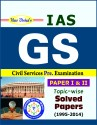 IAS General Studies  Preliminary  Topic wise Solved Papers  Paper I & II   English  available at Flipkart for Rs.365