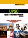 UPSC Public Administration Optional: Mains Examination Topicwise Question Analysis 20+ Years 3 Edition 9789382732914 available at Flipkart for Rs.155