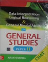 CSAT Data Interpretation Logical Reasoning and General Mental Ability for General Studies (Paper - 2) 1st Edition price comparison at Flipkart, Amazon, Crossword, Uread, Bookadda, Landmark, Homeshop18