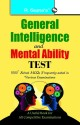 General Intelligence Test / Mental Ability Test 31 Edition price comparison at Flipkart, Amazon, Crossword, Uread, Bookadda, Landmark, Homeshop18