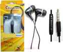 BSEnterprise BS Enterprise Stereo Sound Handsfree Earphone For Spice Dual Core Phablet Stereo Wired Headphones available at Flipkart for Rs.399
