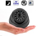 """Influx 1/4"""" Senor 420TVL CCTV Dome Indoor CCTV Surveillance Micro SD/TF Card Night Vision DVR Recorder 1 Channel Home Security Camera available at Flipkart for Rs.1699"""
