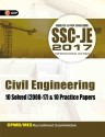 SSC - JE 2017 - Civil Engineering : CPWD / MES Recruitment Examination - 10 Solved (2008 - 17) and 10 Practice Papers Third Edition price comparison at Flipkart, Amazon, Crossword, Uread, Bookadda, Landmark, Homeshop18