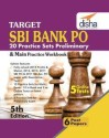 Target SBI Bank Preliminary & Main PO Exam 20 Practice Sets Workbook with Online Tests (English 5th edition) (English) price comparison at Flipkart, Amazon, Crossword, Uread, Bookadda, Landmark, Homeshop18