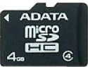 Adata 4  GB MicroSD Card Class 4 14 MB/s  Memory Card available at Flipkart for Rs.172