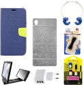 Mify Mify Branded Back & Flip Cover For Xiaomi Mi 4 Accessory Combo available at Flipkart for Rs.899