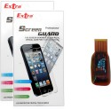 Extra Clear Screen Gourd With Card Reader for Samsung Galaxy Star S5282 Accessory Combo available at Flipkart for Rs.180