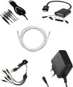 Mxl Mobile Accessories for Samsung Galaxy Ace Duos I589 Accessory Combo available at Flipkart for Rs.399