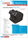 Kores Easycount 471 Note Counting Machine available at Flipkart for Rs.129990