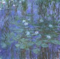 Ocher Art 30x30 Inches, Claude Monet   Water Lilies Canvas Painting available at Flipkart for Rs.1699