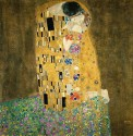 Ocher Art 30x30 INCHES, Gustav Klimt   The Kiss  Couple in love Canvas Painting available at Flipkart for Rs.8100