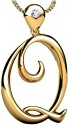 Facetzinspire Real Yellow Gold Diamond Gold Pendant available at Flipkart for Rs.6388