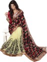 Dream Saree Printed Fashion Brasso Sari available at Flipkart for Rs.4460