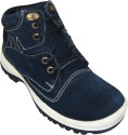Get best deal for JK Port Blue Leather Casual Shoe Casuals at Compare Hatke